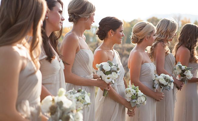 The Honorary Bridesmaid Is A Growing Trend — But Is It Rude? | Photo by: Ira Lippke Studios | TheKnot.com