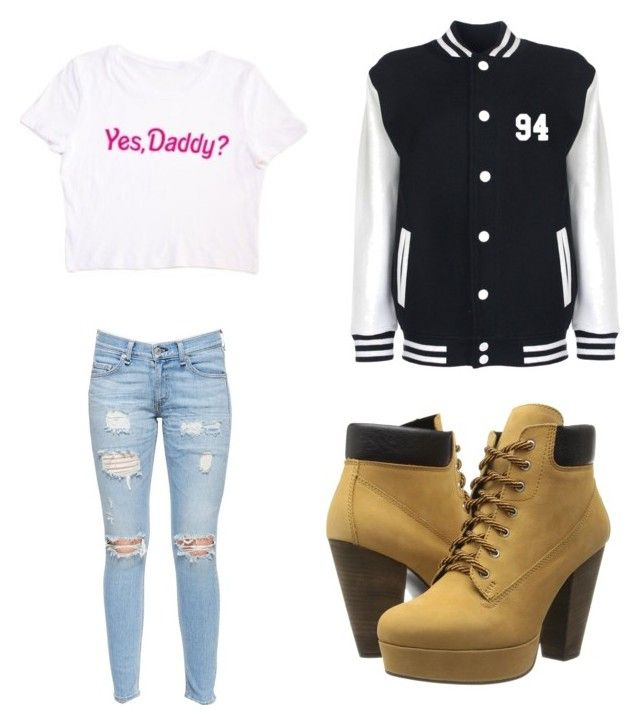 """with nash grier"" by slayyeettia ❤ liked on Polyvore featuring moda, Steve Madden y rag & bone/JEAN"