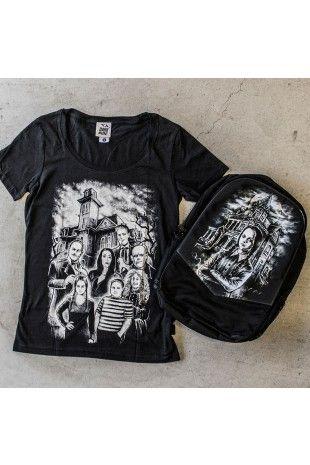 Addams Family Womens Tshirt