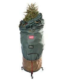 7.5-9' Upright Rolling Christmas Tree Storage Bag Deluxe  This would make clean up EXTRA easy #TreeClassicsChristmas