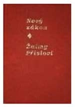 Today's Czech Version (Cet) New Testament and Psalms