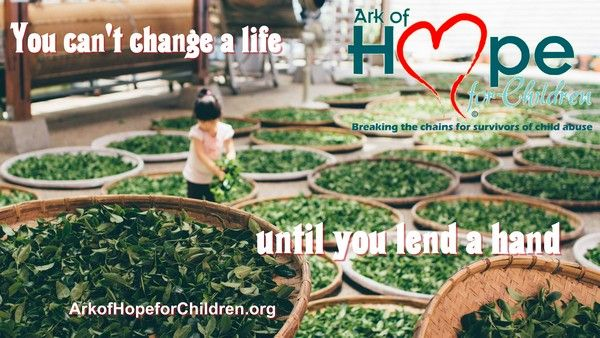 You can't change a life until you lend a hand  Ark of Hope For Children​ volunteer opportunities http://bit.ly/1gMXvdg  #ChildTrafficking, #ChildAbuse, #Bullying
