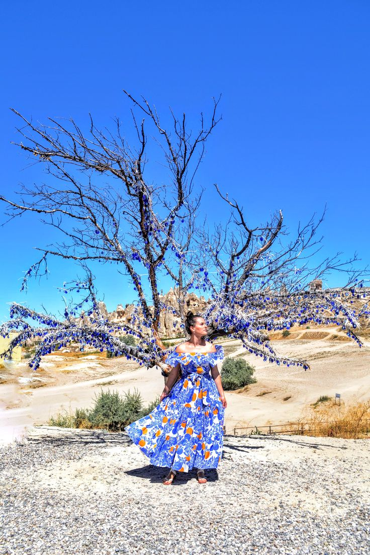 Summer dress  fashion blogger Cappadocia @elenatasci