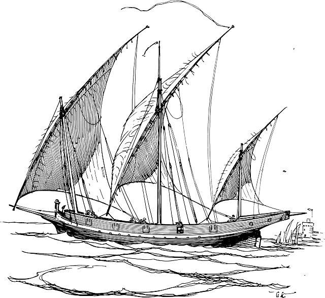 Треугольный Паруса Картинки свободный вектор