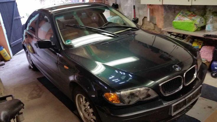 BMW 316i  Bastlerfahrzeug (Steuerkette übersprungen Motor dreht aber)
