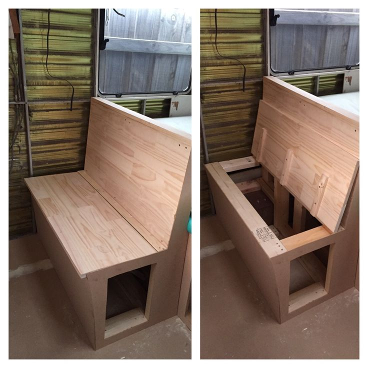 Seat with more storage