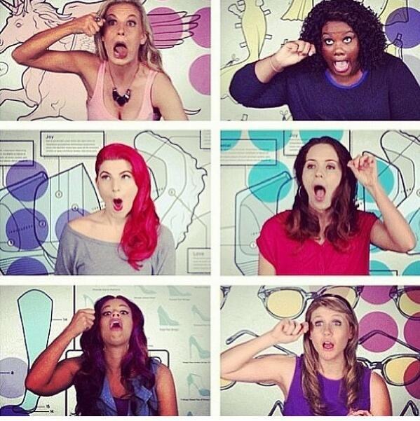 Mascara faces MTV Girl Code...haha this show makes me happy