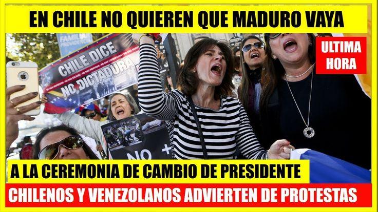 EN CHILE NO QUIEREN PRESENCIA DE MADURO NOTICIAS ULTIMA HORA VENEZUELA #26febrero