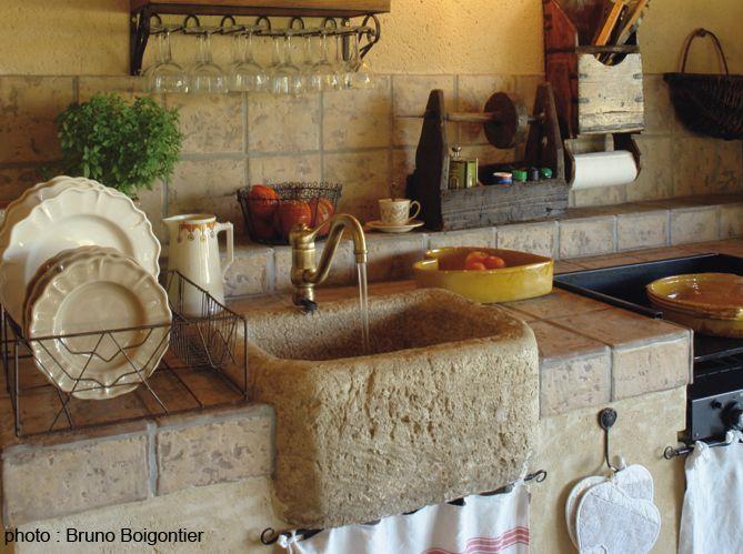 Les Meilleures Idées De La Catégorie Evier Pierre Sur Pinterest - Evier cuisine occasion pour idees de deco de cuisine