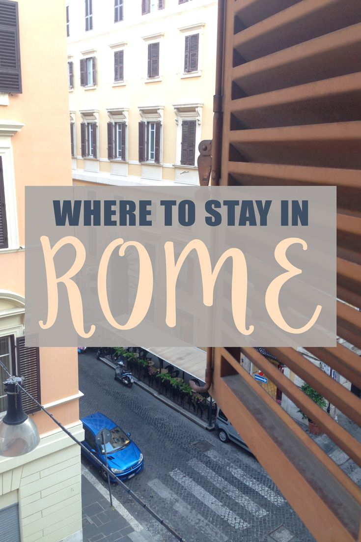 The best budget and luxury accommodation in the beautiful city of #Rome!
