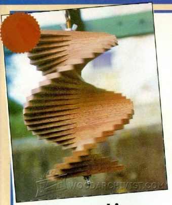 Wooden Wind Spinners Plan - Outdoor Plans and Projects | WoodArchivist.com