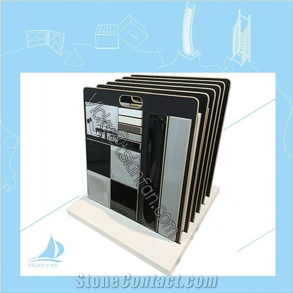 Stone Sample Board With Sample Board display stand
