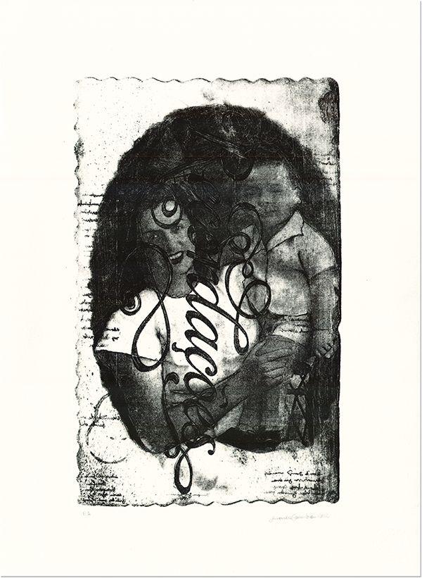 Amanda Coimbra [www.amandacoimbra.com.br]  'recordações'  lithograph  2011