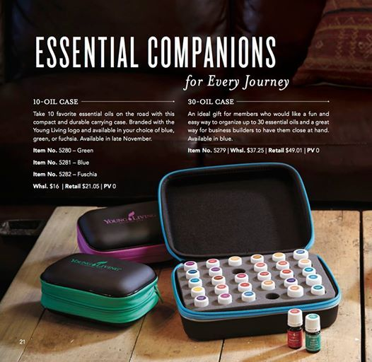 Essential Oil Travel Cases Young Living Essential Oils