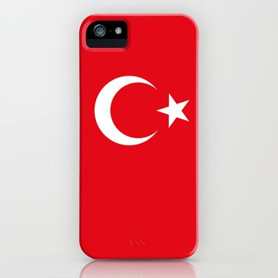 The National flag of Turkey - Authentic version iPhone & iPod Case