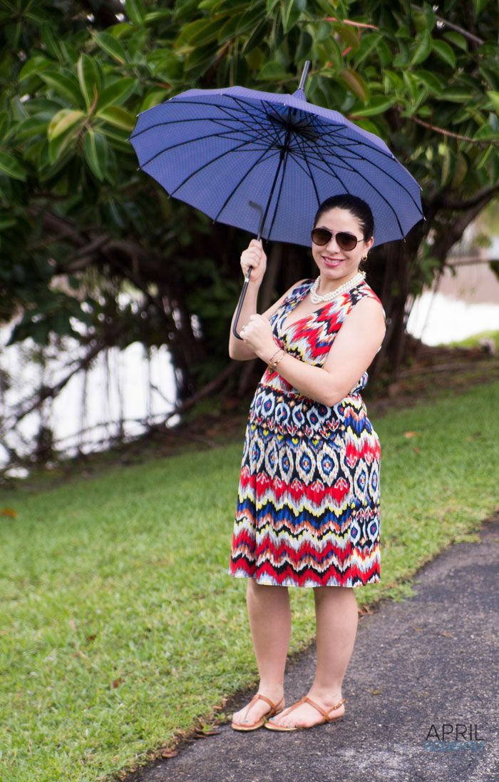 Summer rain outfit from Karina Dresses