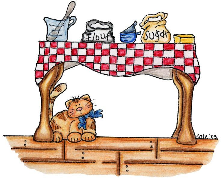 Kitchen Table #clipart | ღ Clipart ~ Kitchen- Food & Chefs ...