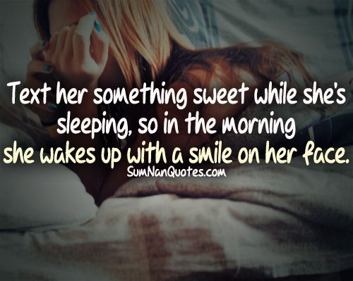 something cute to sleep on quotes - 500×399
