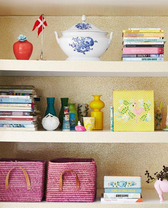 Gold und Glamour für Deine Wände! Rice Tapete Glamour Print von Eijffinger.