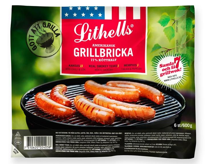 Lithells grillkorv | idegodesign.se