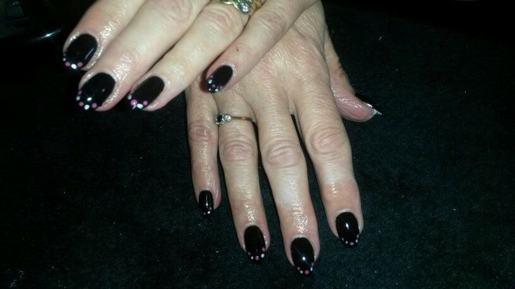 Blackpool Shellac with Cityscape & Tutti Frutti dots Follow on Facebook Jewels Not Tools By Kelly♥