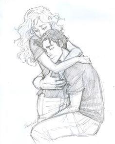 Percy hat dich einfach vermisst, Annabeth… sehr. Burdge, hör auf damit. Trauer, jetzt meine Gefühle.