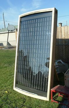 DIY Solar Heater using Soda Cans