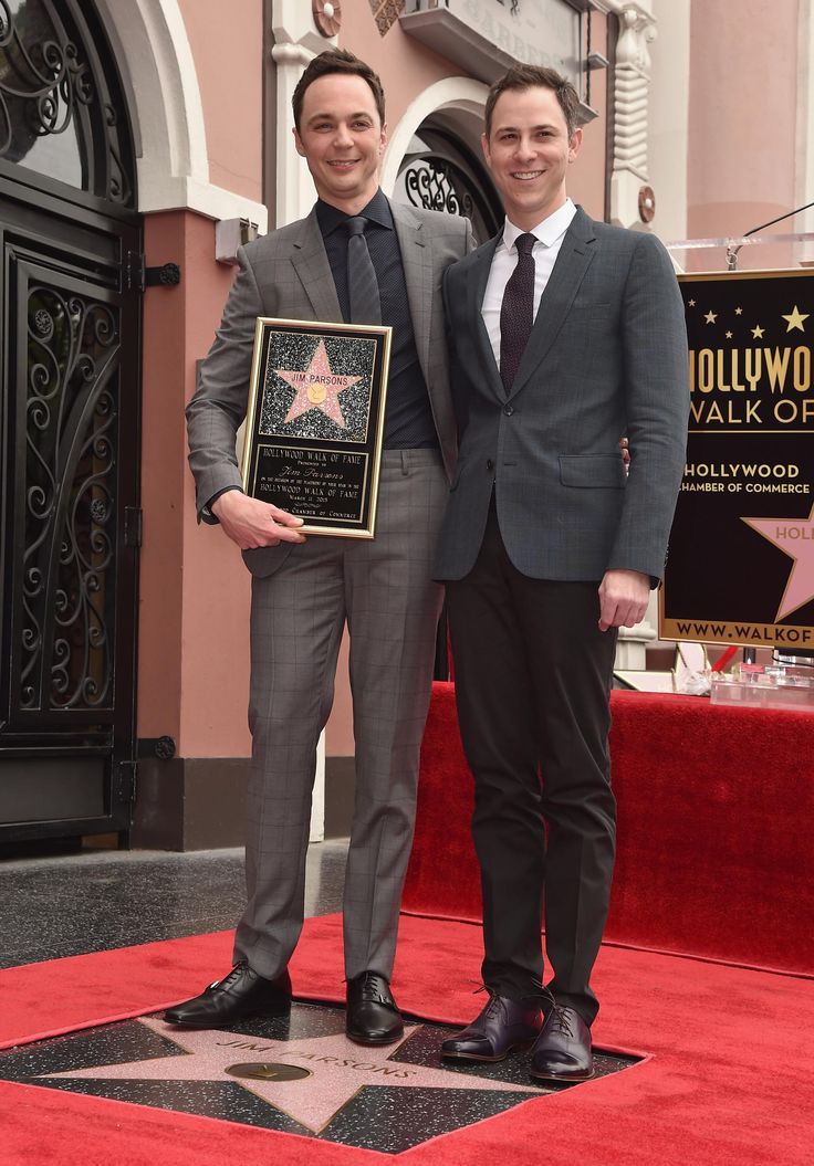 Jim and Todd at the Walk of Fame ceremony
