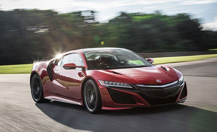 The 2017 Acura NSX | The legendary NSX, touted as a supercar that's easy to live with on a daily basis, is reborn for 2017 with a trendy hybrid ...