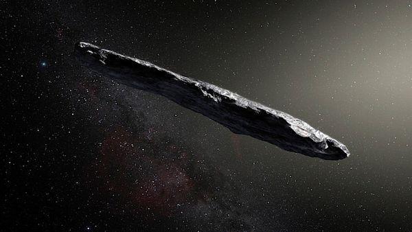 Vesmírné těleso Oumuamua