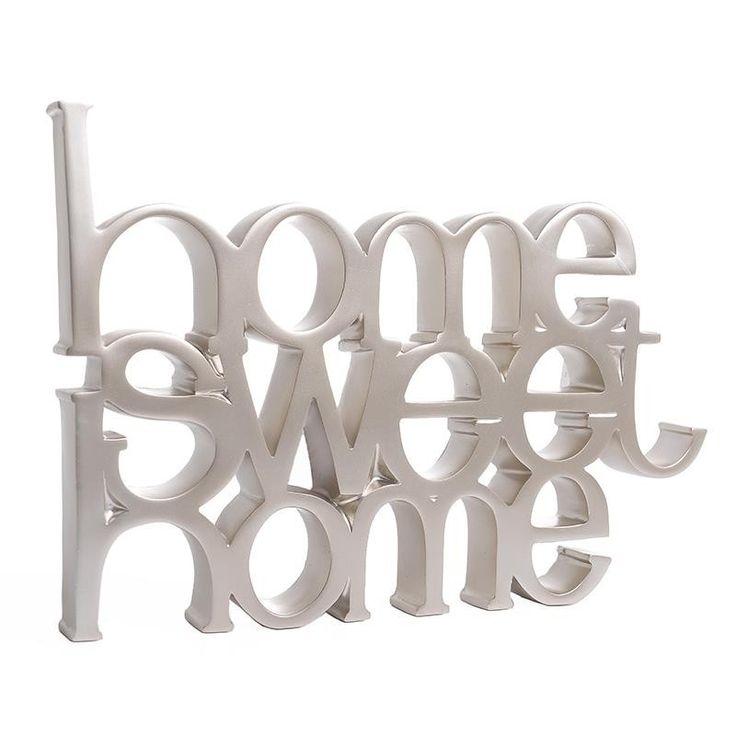 """Διακοσμητικό """"Home Sweet Home"""" INART"""