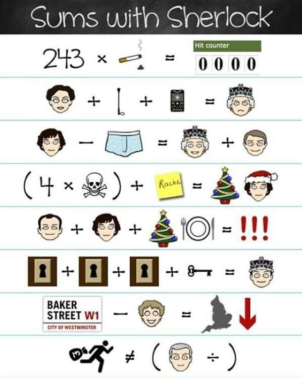 Sums with Sherlock