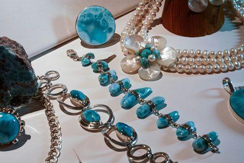 Bijoux Larimar collection 2012 Terrenas en Plata