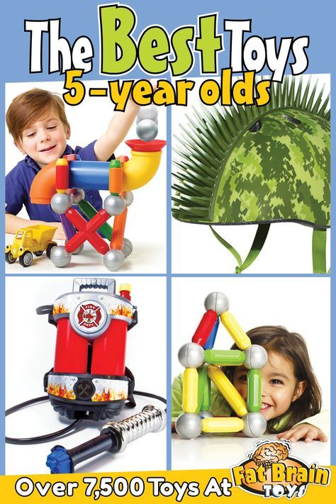 The Best Educational Toys, Games, and Gift Ideas for 5 Year Olds