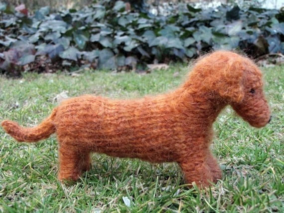 Free Knitting Pattern For Dachshund Dog : 883 best images about Amigurumi dogs on Pinterest Free pattern, Poodles and...