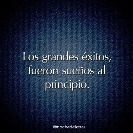 Grandes éxitos (pineado por @PabloCoraje) #Citas #Frases #Quotes