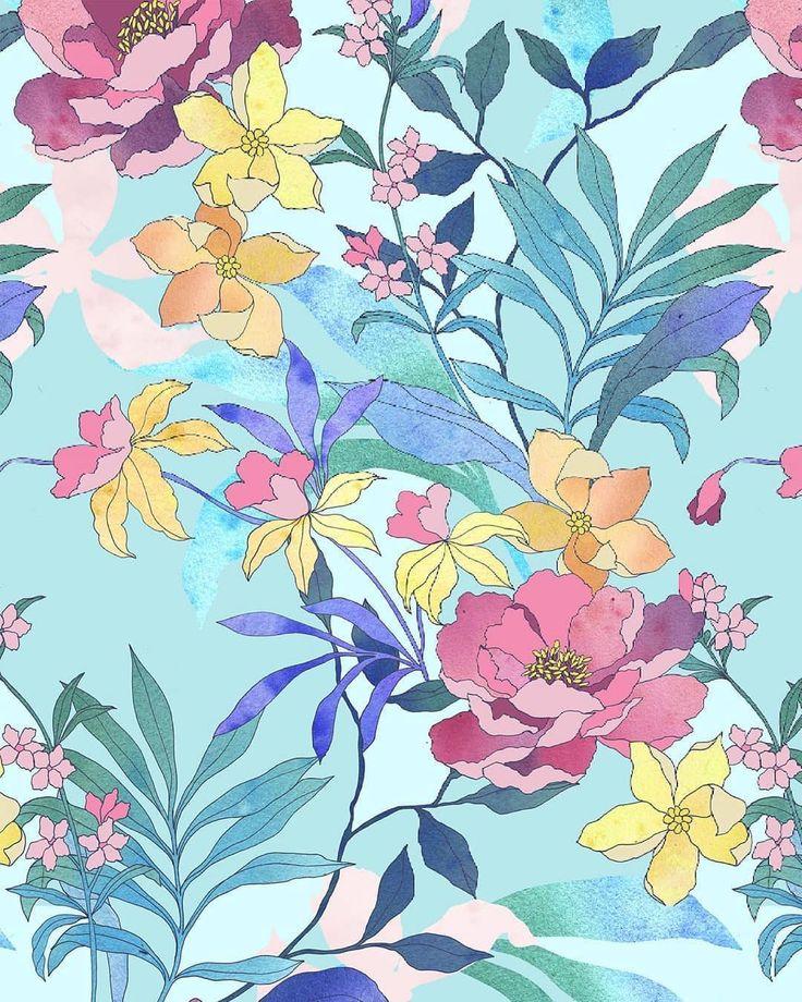 My new multicolor floral design. Мой новый многоцветный ...