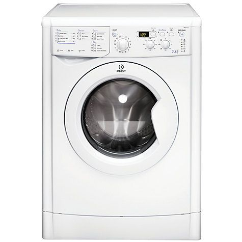 Buy Indesit IWDD7123 Washer Dryer, 7kg Wash/5kg Dry Load, B Energy Rating, 1200rpm Spin, White online at John Lewis