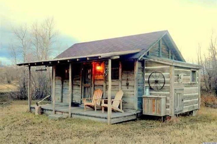 teeny tiny houses | Yellowstone Cabin | Teeny Tiny Houses