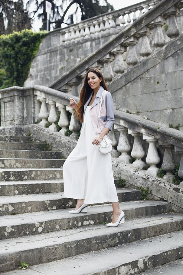 Culottes are my ultimate wardrobe staple for 2016 - I love this jumpsuit with culotte trousers!