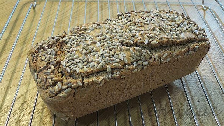 Bezlepkový chléb z pohanky