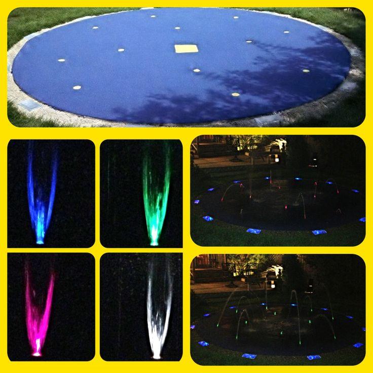 Lighted Splash Pad!