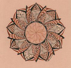 Zentangle Art - Zendala I by Davilla Harding  http://fineartamerica.com/art/all/zentangle/all?page=11