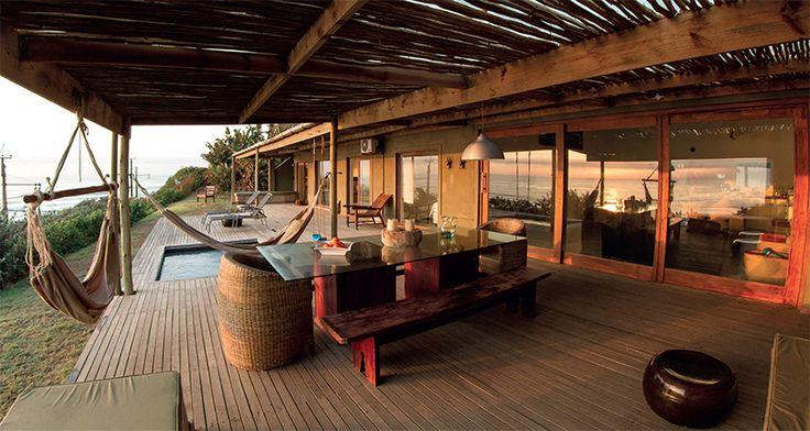 elevated beach homes | High Rocks Beach House in Umkomaas