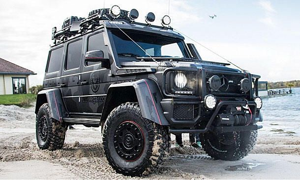 Jon Olssons Mercedes-Benz G500 4x4
