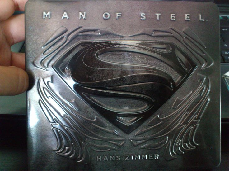 Bought the Man of Steel Original Motion Picture Soundtrack Limited Deluxe Edition !