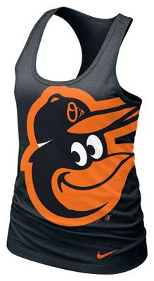 Baltimore Orioles MLB Nike Womens Cotton Racerback Tank