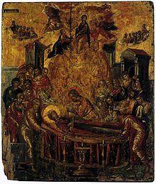 La Dormición de la Virgen, antes 1567