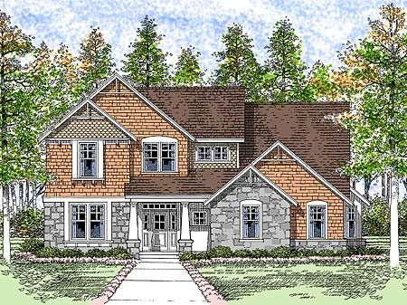 Elevation: House Design, House Ideas, Lots House, Skiing House, House Plans