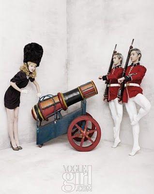 """""""The Nutcracker Girl"""" in Vogue Girl Korea"""